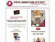 Tablet Preview of 1000stairlift.net